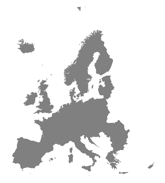 Map Europe World 183 Free Vector Graphic On Pixabay