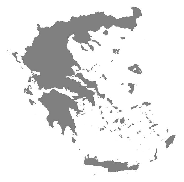 Map Greece Europe - Free vector graphic on Pixabay