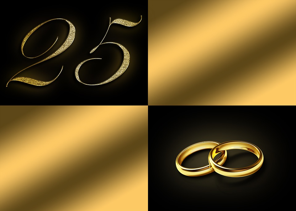 Silver Wedding Anniversary 25 \u00b7 Free image on Pixabay