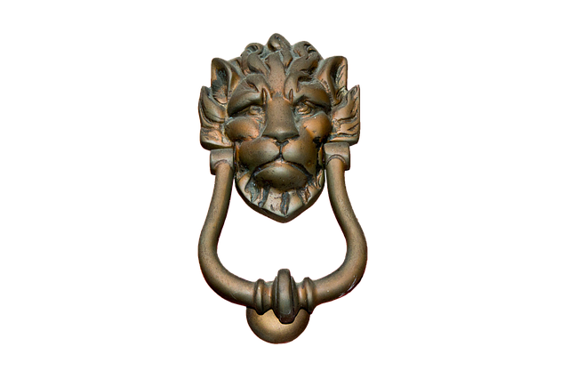 Doorknocker Brass Isolated 183 Free Photo On Pixabay