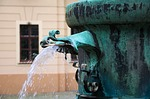 fountain, cold water