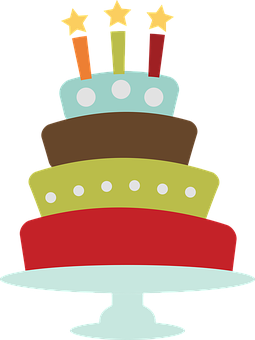 Birthday, Cake, Clip Art