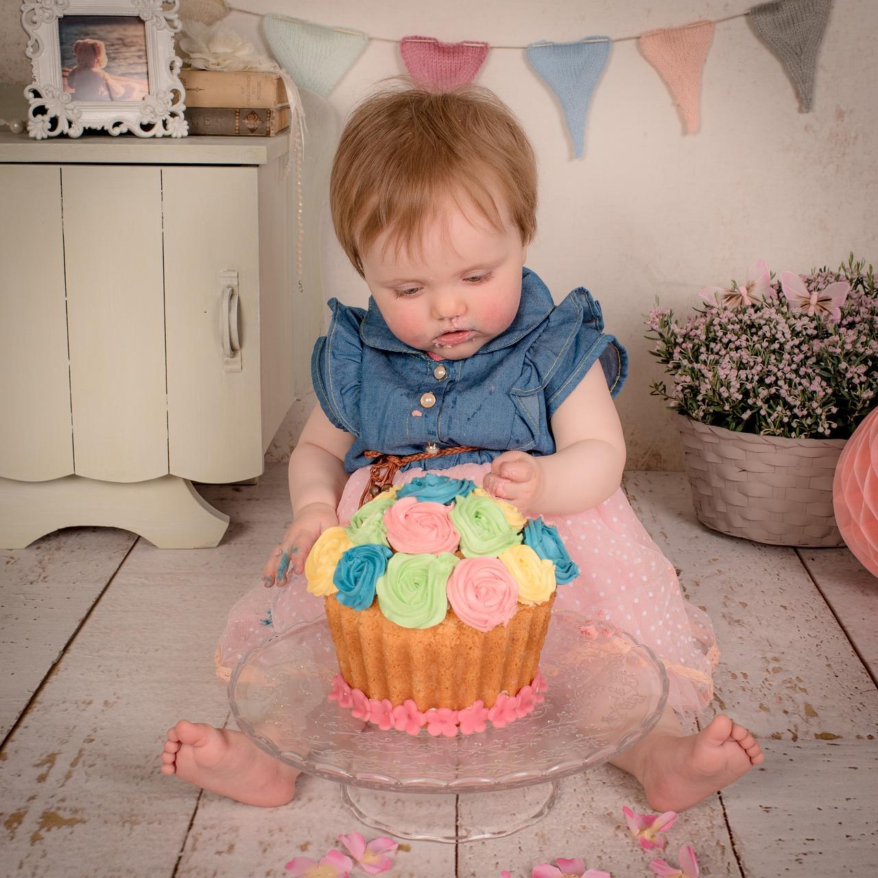 Картинки на день рождения торты и дети