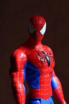 Spider-Man, Toy, Portrait, Children