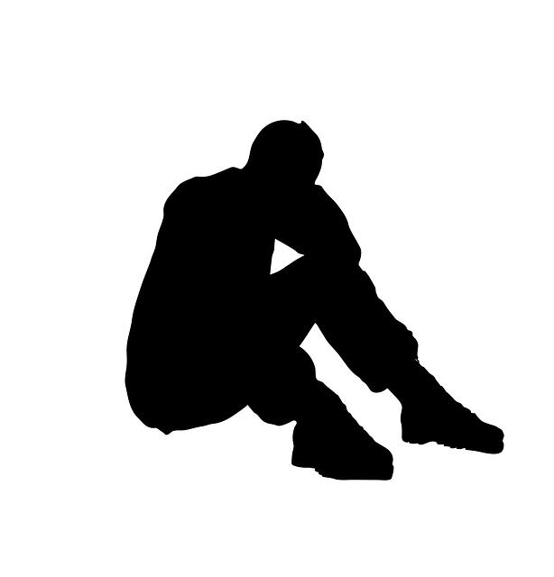 Sad Boy Alone Quotes: 절망적 인 스트레스 문제 · Pixabay의 무료 벡터 그래픽