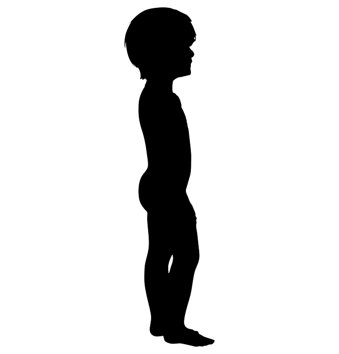 boy human silhouette free vector graphic on pixabay rh pixabay com human silhouette vector standing human body silhouette vector