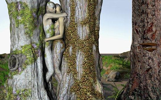 Fantasy, Forest, Fairytale, Romantic