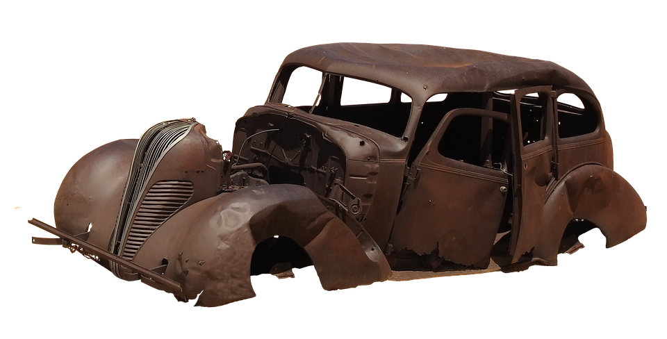 Rusted Old Car Png