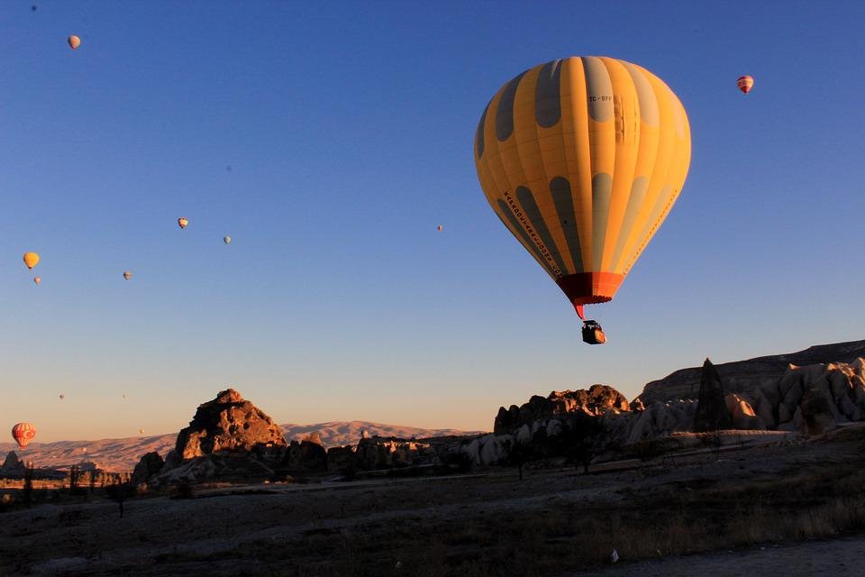 Hot air balloon in Turkey
