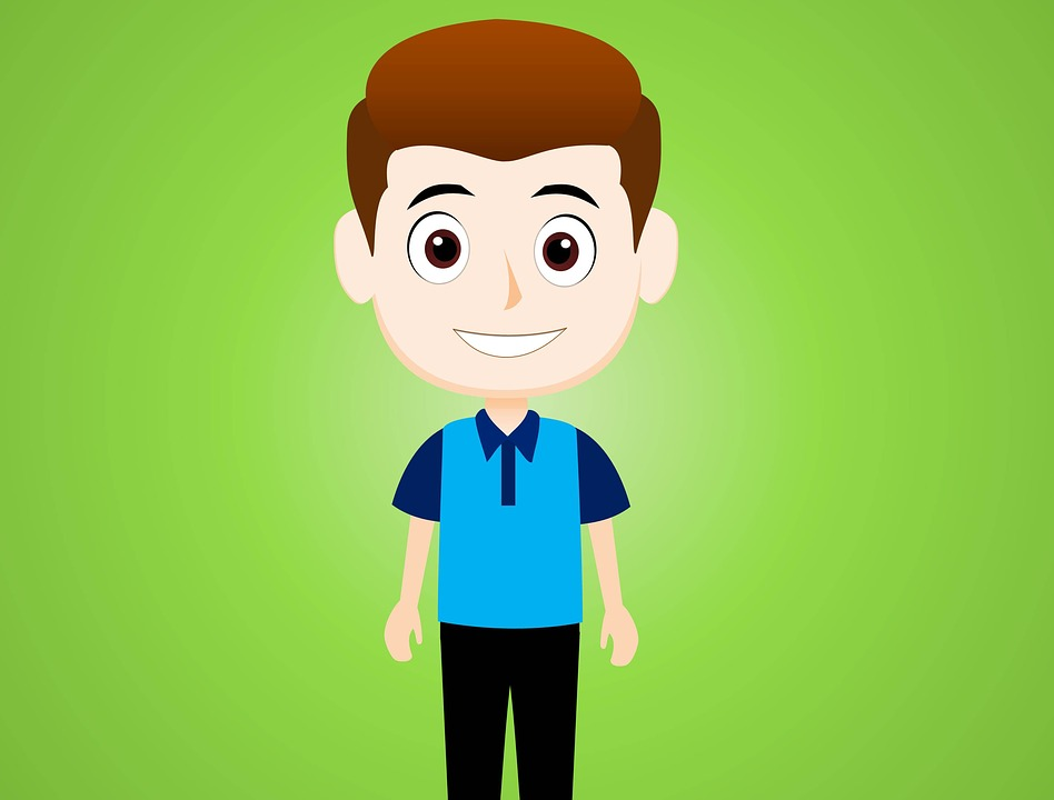 Cartoon Character Boy Free Image On Pixabay