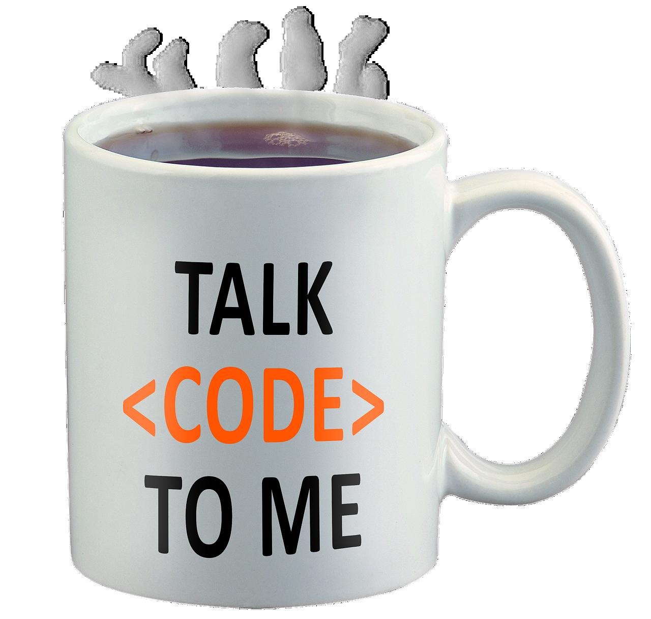 Code geek mug