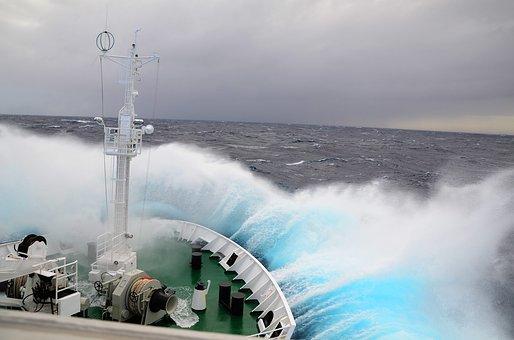 Drake Passage, Antarctica, Waves, Ocean