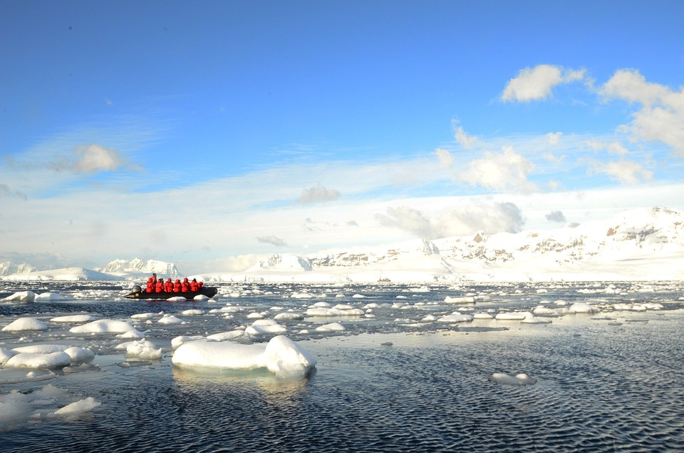 Antarctica Adventure Destination by Zodiak