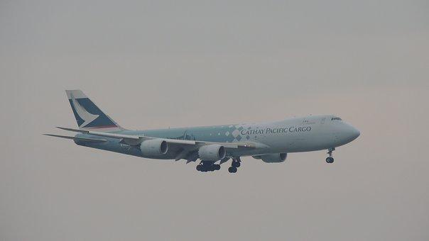 Hongkong, Airplane, Travel, Airport