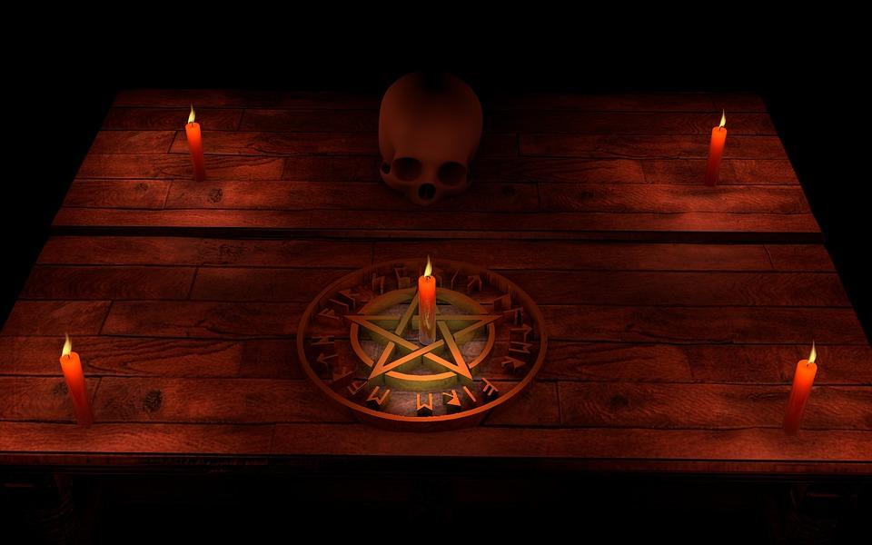 Pentáculo, Magic, Ocultismo, Místico, Ritual, Mental