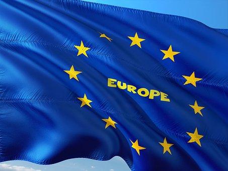 International, Vlag, Eu, Europa