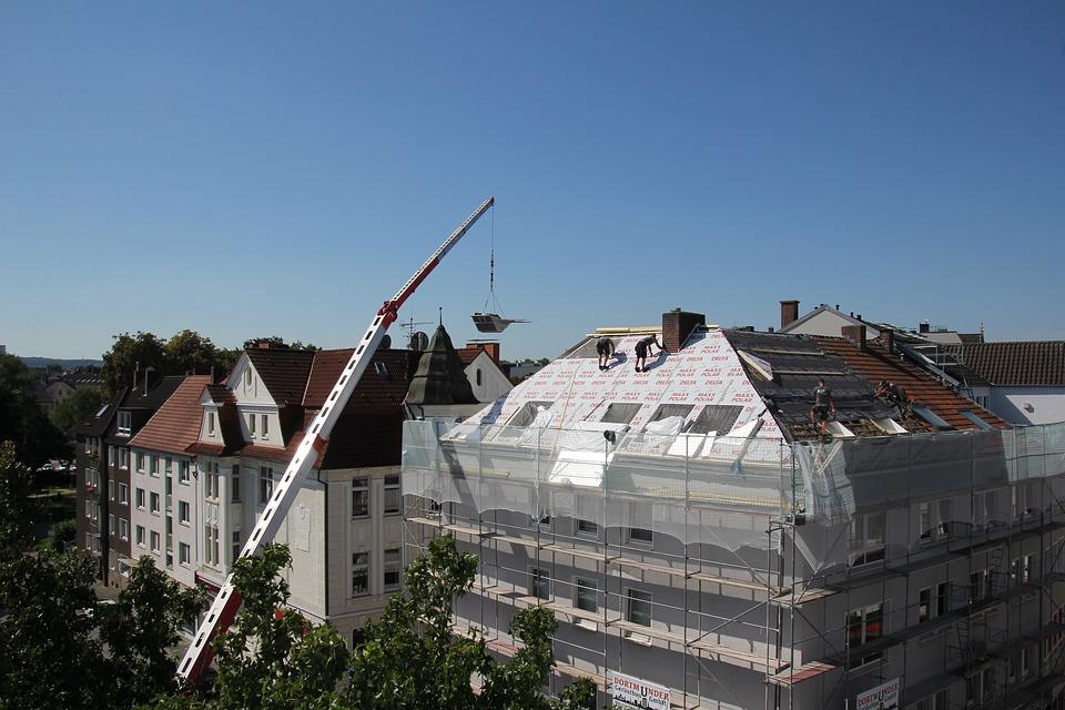 Couvreurs, Dachdeckerarbeiten, La Laine Isolante