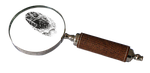 magnifying, glass