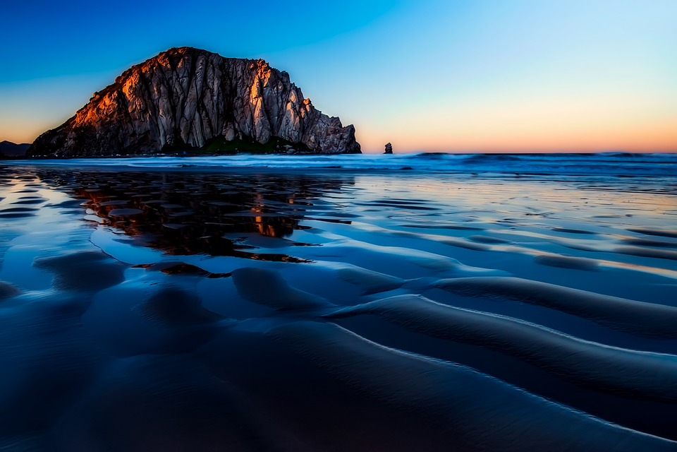 Morro Bay California Sunset 183 Free Photo On Pixabay