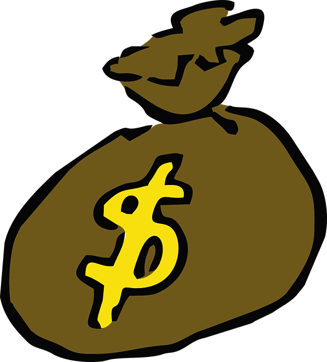 money bag bank rich free vector graphic on pixabay