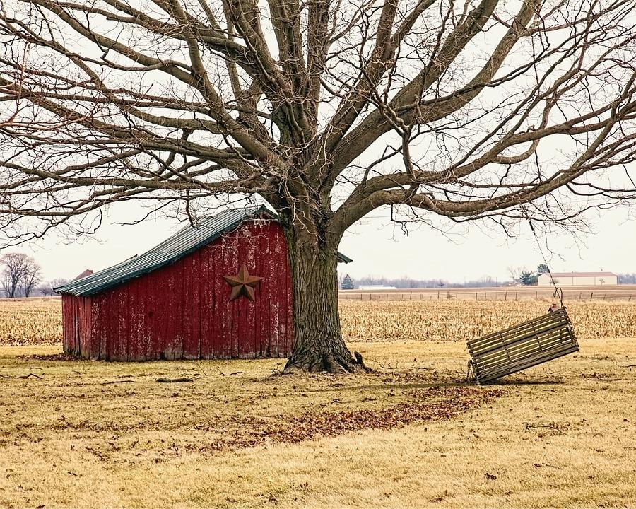 Rustic Barns free photo: barn, rustic, barns, swing - free image on pixabay