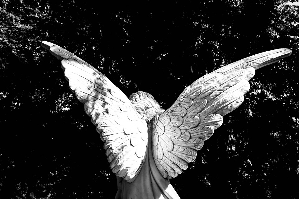 Angel, Vinge, Änglavingar, Gud, Religion, Kyrkogården