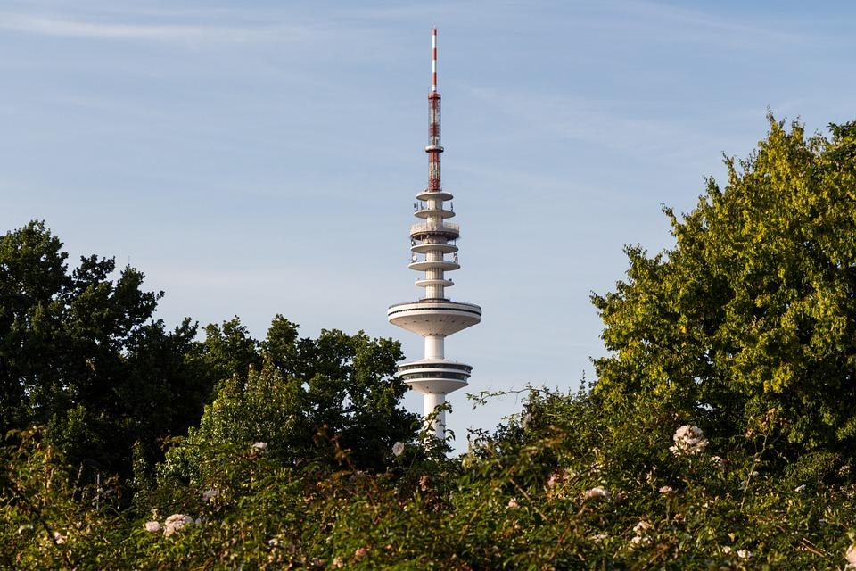 Fernsehturm in Hamburg