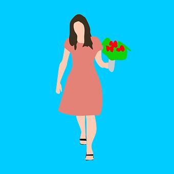 Memegang Bunga Gambar Pixabay Unduh Gambar Gambar Gratis