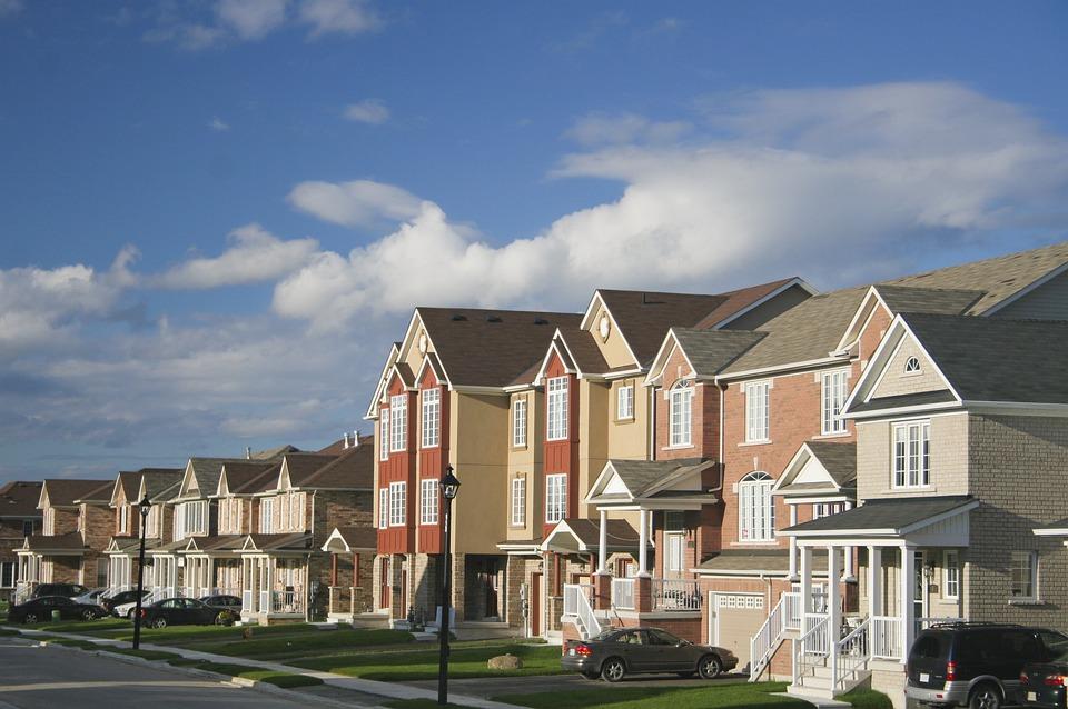 House, Townhouse, Building, Neighborhood, Realtor
