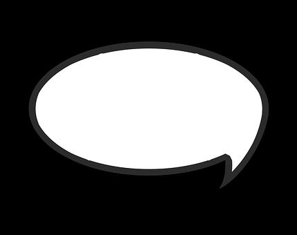 Sprechblase für kommunikativen Lerntyp