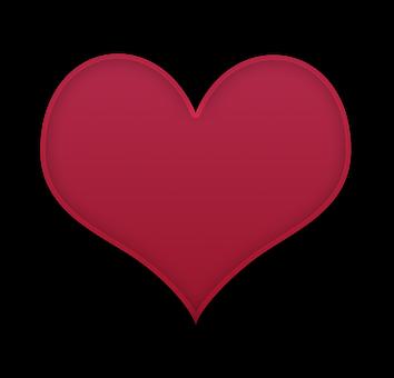 Red Heart, Heart, Saint Valentine'S Day