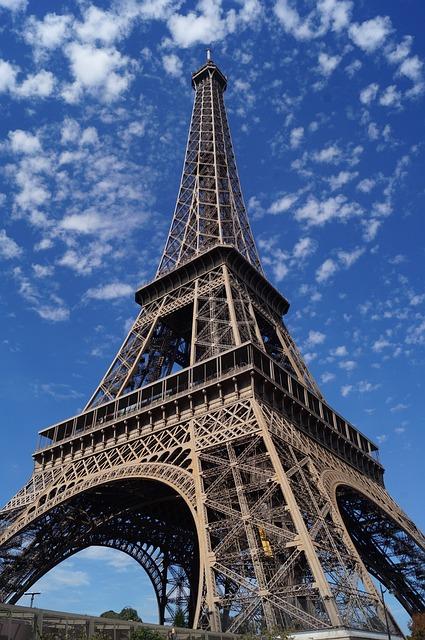 Photo gratuite tour eiffel ciel ensoleill image - Tour eiffel photos gratuites ...