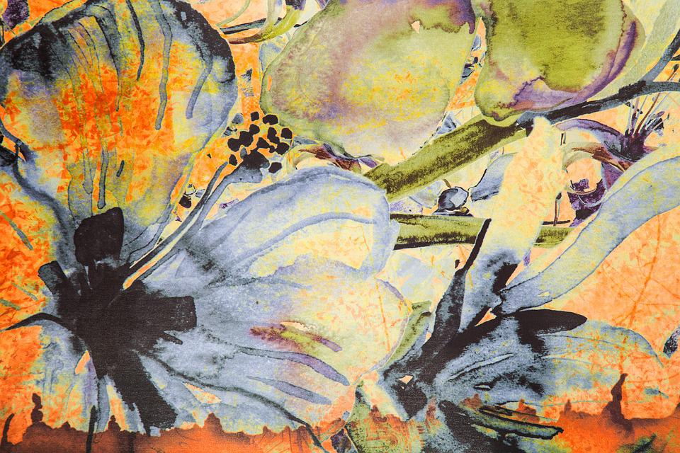Flower, Texture, Pattern, Fabric, Detail, Nobody