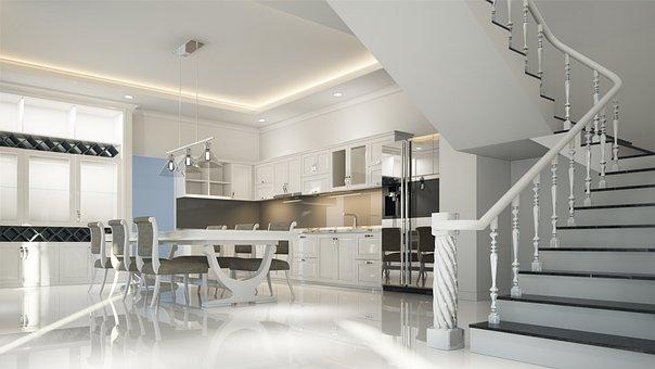 Interior, Neoclassical, Design, Luxury