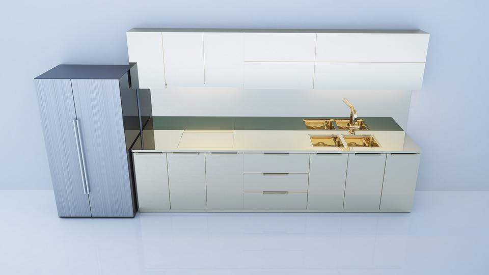 Diseño De Interiores Cocina 3D · Foto gratis en Pixabay