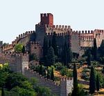 castle, spain, tower