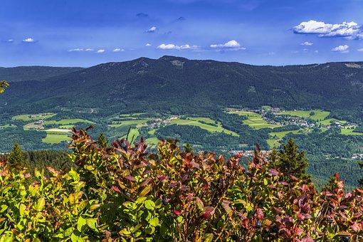 Bayrischer Wald, Berg, Bayern, Camping Lackenhäuser