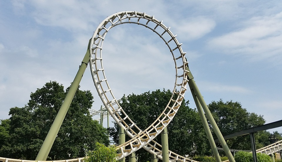 Looping Roller Coaster Heide Park Free Photo On Pixabay