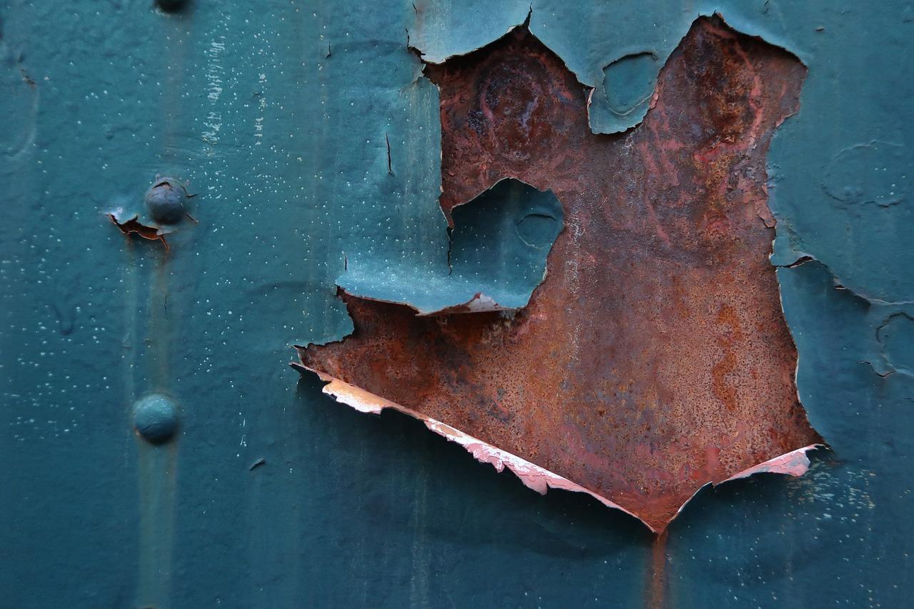 картинки рваного металла затишья