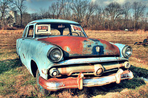 old car car junker antique