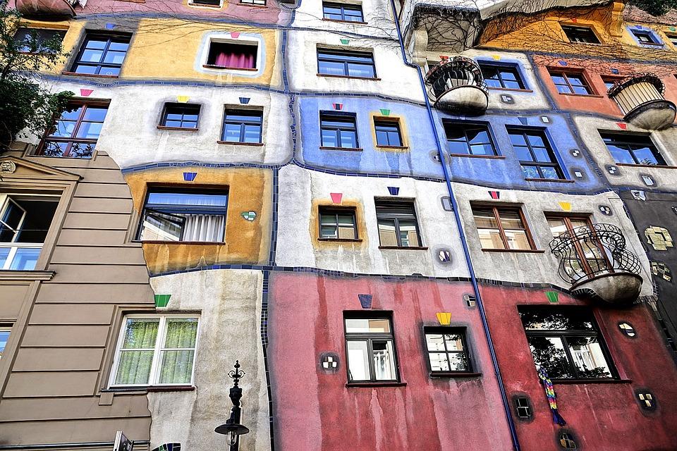 Vienna, Hundertwasser, Sztuka
