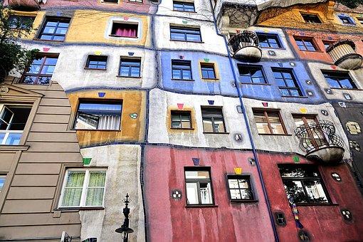 Hundertwasser Hau. Viena