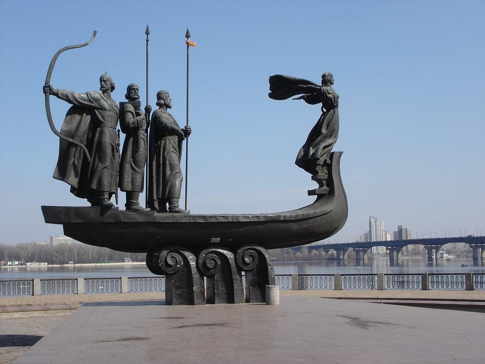 Киев, Ingegärd, Викинги