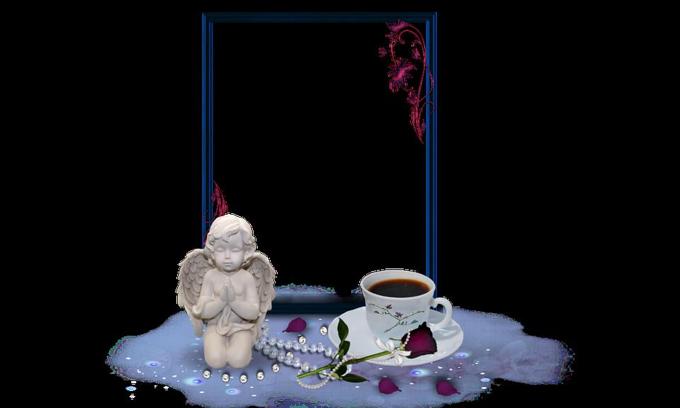 Engel Rahmen Guten Morgen Kostenloses Foto Auf Pixabay