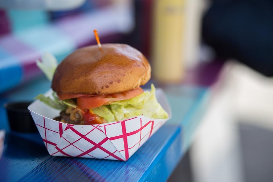 Food Truck, Hamburger, Cheeseburger, Gastro, Food