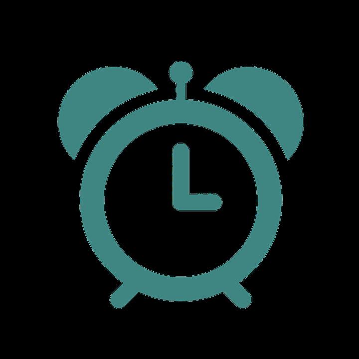 Clock Time Reminder Remind Morning Clipart