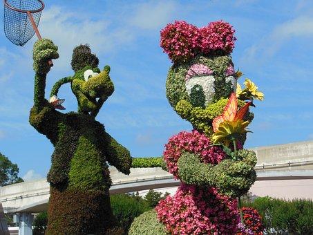 Disney, Orlando, Florida, Goofy
