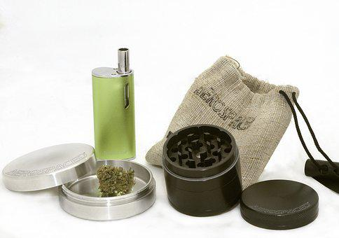 Marijuana, Cannabis, Bud, Grinder
