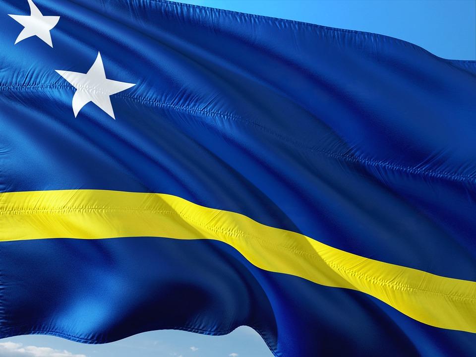 Afbeeldingsresultaat voor vlag curacao