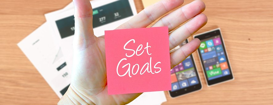 Goals, Setting, Office, Work, Note